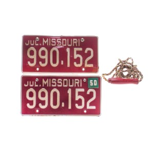 Fargo Loy Cannon Chris Rock Screen Used License Plates & Jumping Rope Ss 4
