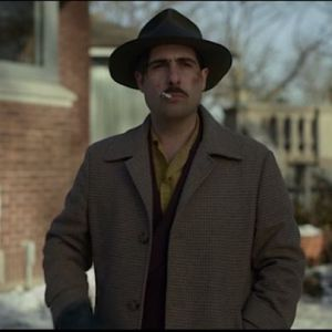 Fargo Josto Fadda Jason Schwartzman Screen Worn Coat Shirt Gloves & Suspenders Ep 408