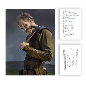 Vikings Floki Gustaf Skarsgard Production Used Tattoo Art Transfer Pieces