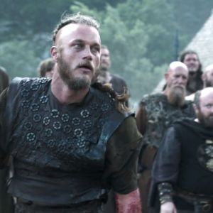 Vikings Ragnar Travis Fimmel Screen Worn Armor & Tunic Ep 106