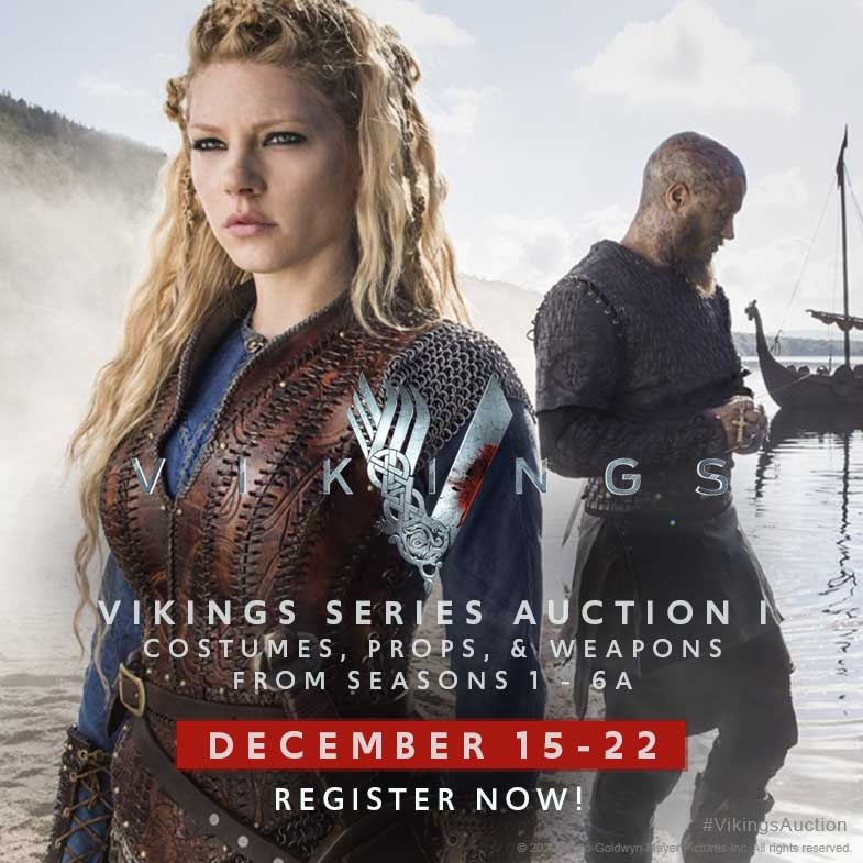 Vikings Series Auction starts December 15th