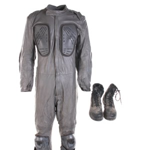Lot #221 – The Giver (2014) Security Officer (Vaughn Lucas) Jumpsuit & Shoes
