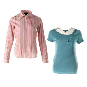 Lot #223 – The Office (2005-2013) Pam Beesley & Angela Martin Production Used Shirts