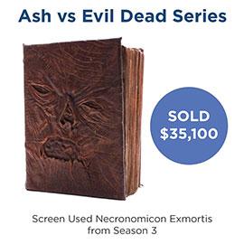 Top Selling Items - Ash vs Evil Dad screen used Necronomicon