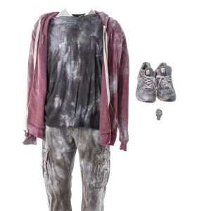 Lot #55 – Bad Trip Chris Carrey Eric Andre Screen Worn Stage 2 Shirt Pants & Shoes Ch 5C