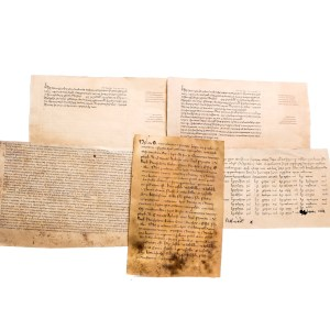 Lot #58 – Vikings Aethelred Darren Cahill Screen Used Letter & Document Set Ep 514
