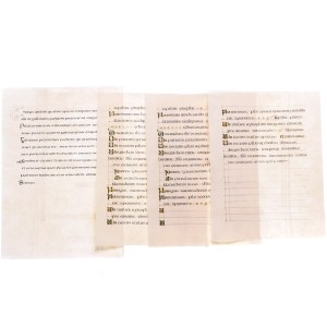 Lot #177 – Vikings Production Used Lindisfarne Monastery Graphic Text Page Set 3 Ep 102
