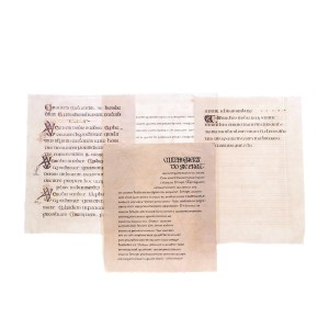 Lot #178 – Vikings Production Used Lindisfarne Monastery Graphic Text Page Set 6 Ep 102
