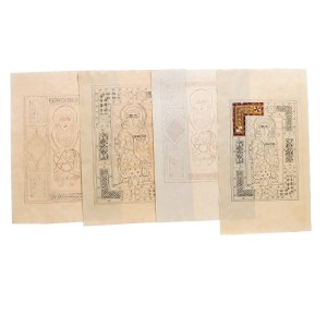 Lot #29 – Vikings Production Used 1-2 Lindisfarne Monastery Graphic Icon Page Set Ep 102