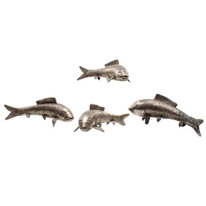 Lot #159 – Vikings Igor Oran Glynn O'Donovan Production Used Koi Fish Figurines