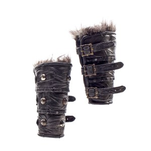 Lot #14 – Vikings Hvitserk Marco Ilso Production Used Cuffs