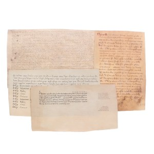 Lot #157 – Vikings Aethelred Darren Cahill Production Used Letter Set & Document Set