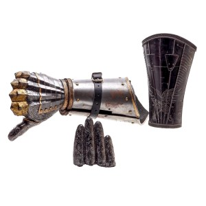 Lot #155 – Into The Badlands (2015-2019) Moon Sherman Augustus Production Made  2 -Piece Arm & Cuff