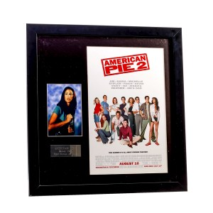 Lot #34 – American Pie 2 (2001) Nadia Shannon Elizabeth Production Used Picture W/ Frame