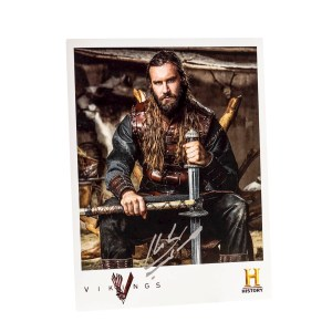 Lot #331 – Vikings (2013-2020) Rollo Clive Standen Autographed Photo Ss 3