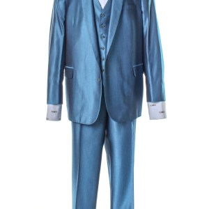 Lot #68 – Respect CL Franklin Forest Whitaker Screen Worn Suit & Shirt Ch 21 Sc 158-160