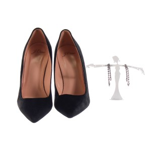 Lot #77 – Respect Clara Ward Heather Headley Production Closet Earrings & Shoes