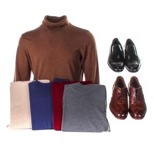 Lot #80 – Respect Ken Cunningham Albert Jones Production Closet Sweater Set & Shoe Set