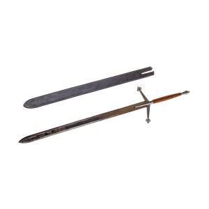 Lot #77 – Game of Thrones (2011-2019) Production Used Claymore Sword & Scabbard