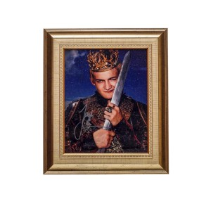 Lot #76 – Game of Thrones (2011-2019) Joffrey Baratheon Jack Gleeson Autographed Picture Frame