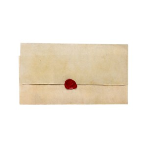Lot #42 – Black Sails (2014-2017) Captain Charles Vane Zach McGowan Production Used Trial Letter W/ Wax Seal & Trial Letter