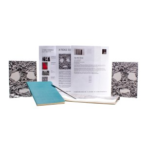 Lot #13 – Candyman Finley Stephens Rebecca Spence Screen Used Notebook W/ Pen Handkerchief Gallery Exhibition Art Guide & Reception Invitation