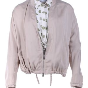 Lot #26 – Candyman Brianna Cartwright Teyonah Parris Screen Worn Stage 1 Jacket Shirt & Earrings Ch 11 Sc 105