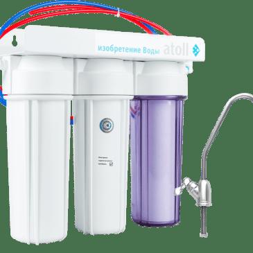 Проточный питьевой фильтр D-31 (Патриот)