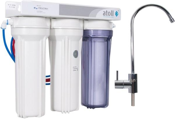 Проточный питьевой фильтр D-31s STD