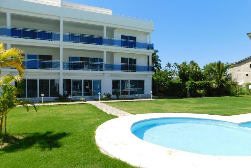 Espacio apartamento en residencia frente del mar
