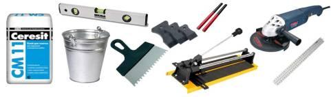 укладка плитки инструменты