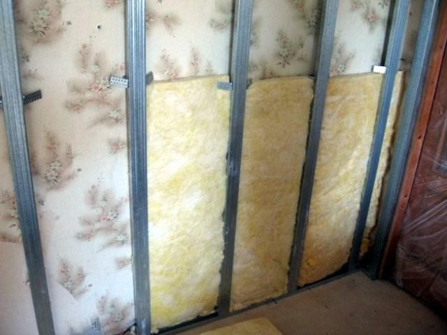 Шумоизоляции стен