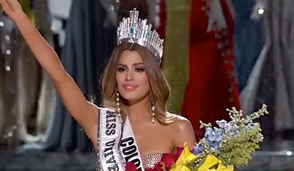 Watch Miss Colombia Confront Steve Harvey About The Miss Universe Nightmare