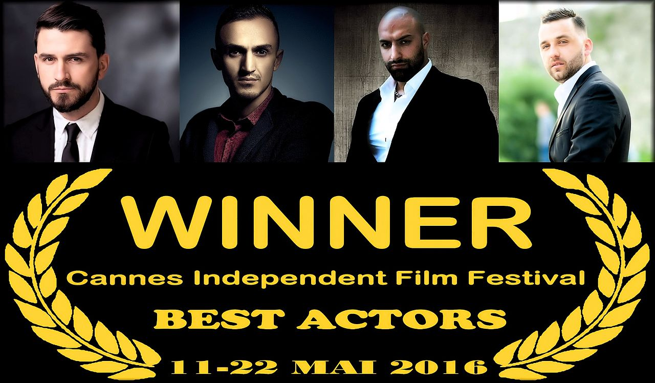 Cannes Film Festival Awards : Dritan Kastrati, Erand Hoxha, Gezim Meta, Ekan Gjinaj (Best Actors)