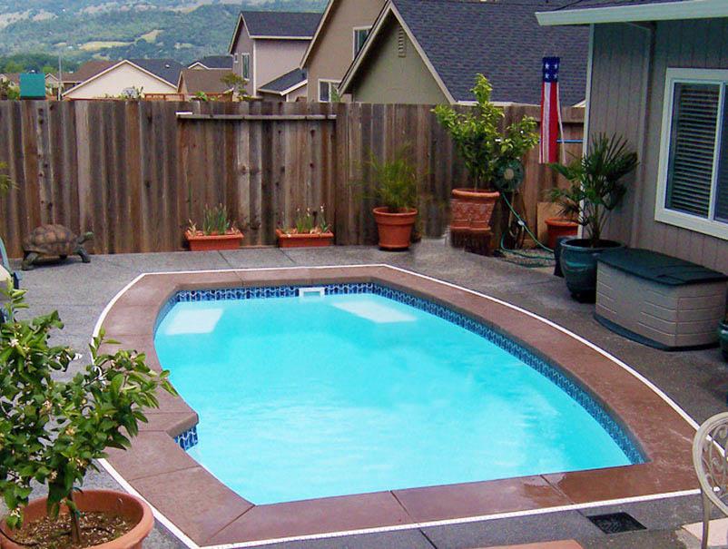 VIP Swimming Pools - Fiberglass Pool Builder in Orange County on Pool Patio Ideas On A Budget id=20768