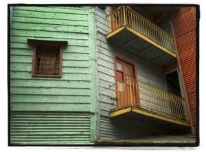 La Boca, Buenos Aires. Houses, colors, conventillos.