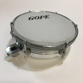 Gope Aluminum Tamborim with clamp