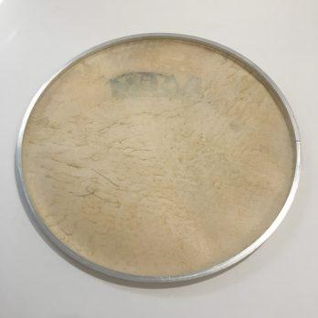 Ivsom Skin Head on aluminum hoop, 12-22″