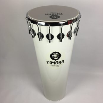 Timbra Timbal, White, 14″x90cm, 16 lugs