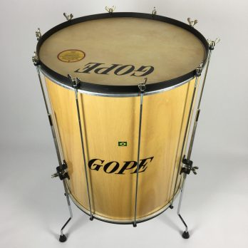 Gope Wood Surdo with legs, 20""