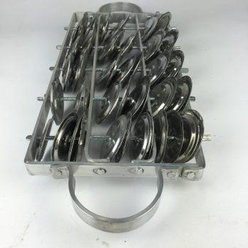 Artcelsior Aluminum Chocalho
