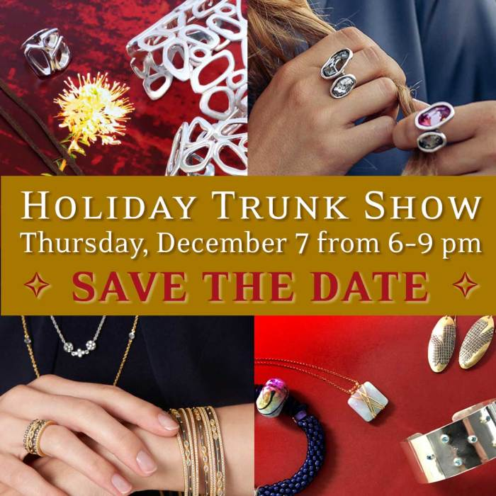 Annual Holiday Trunk Show