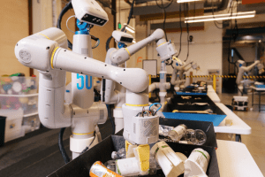 Alphabet's trash-sorting robots have reduced office waste contamination to 'less than 5%'