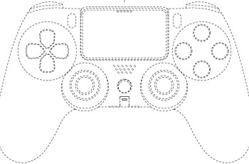 PlayStation controller patent shows larger triggers, no light bar