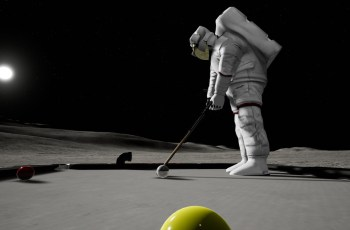 Golf Pool is an ideal fit on VR headsets