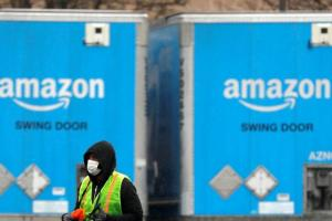 Amazon puts new online grocery customers on waiting list amid surging demand