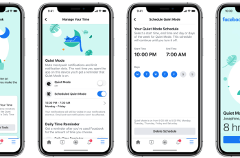 Facebook launches Quiet Mode for muting alerts and scheduling downtime