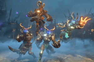 Almighty: Kill Your Gods is a co-op action-RPG about slaying your deities