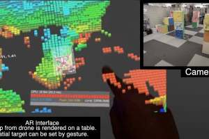 Researchers show holographic AR control system for autonomous drones