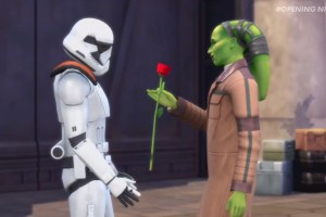 The Sims 4 is taking a trip to Disney's Star Wars theme park land